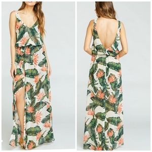 Show Me Your Mumu Paradise Found Maxi Dress Size M